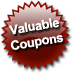 valuable coupons